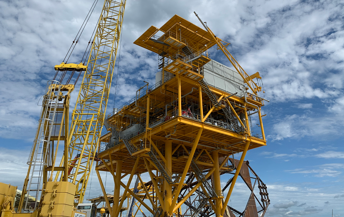 """Byron Energy completes its SM58 """"G"""" Platform installation on schedule and incident free"""