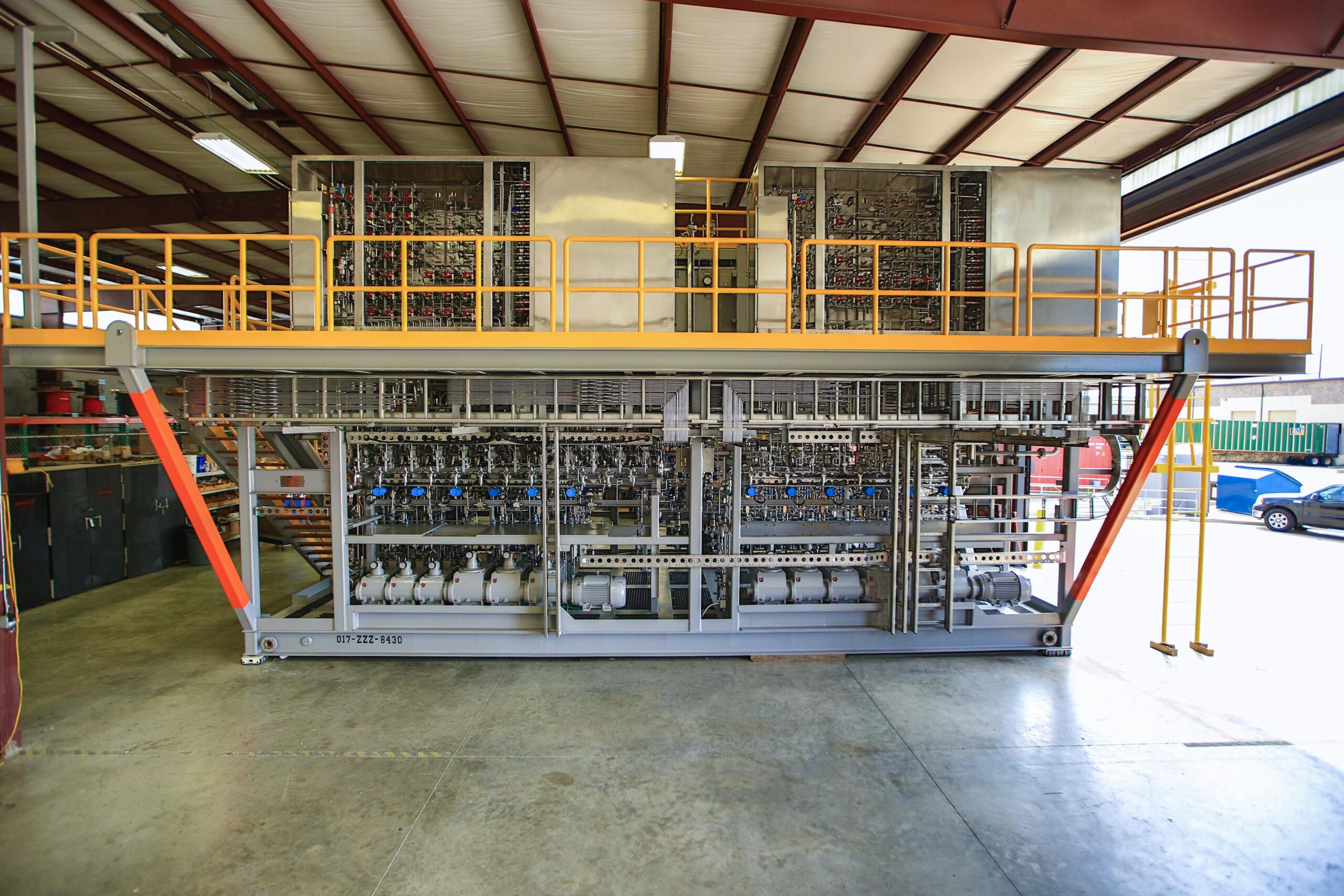 W-Industries chemical injection unit