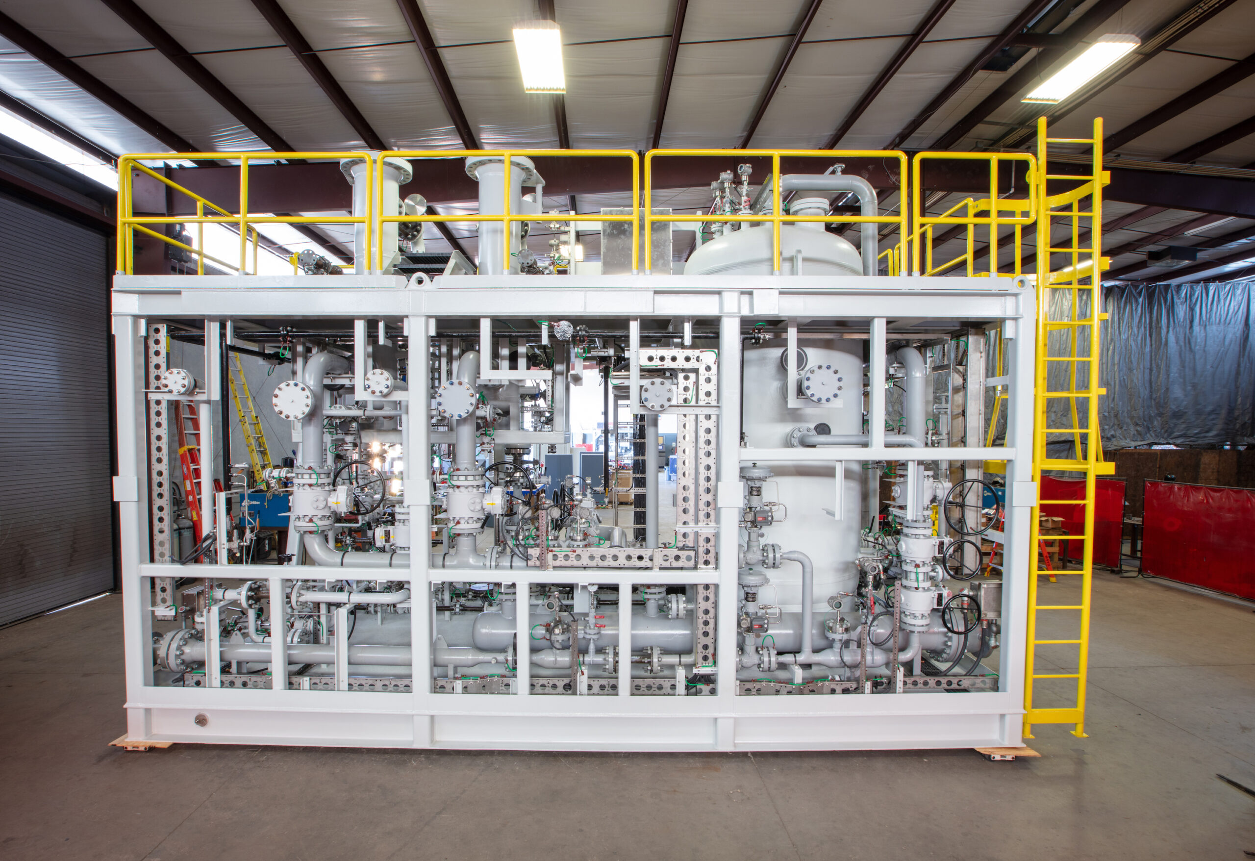 W-Industries Fuel Gas Conditioning Systems