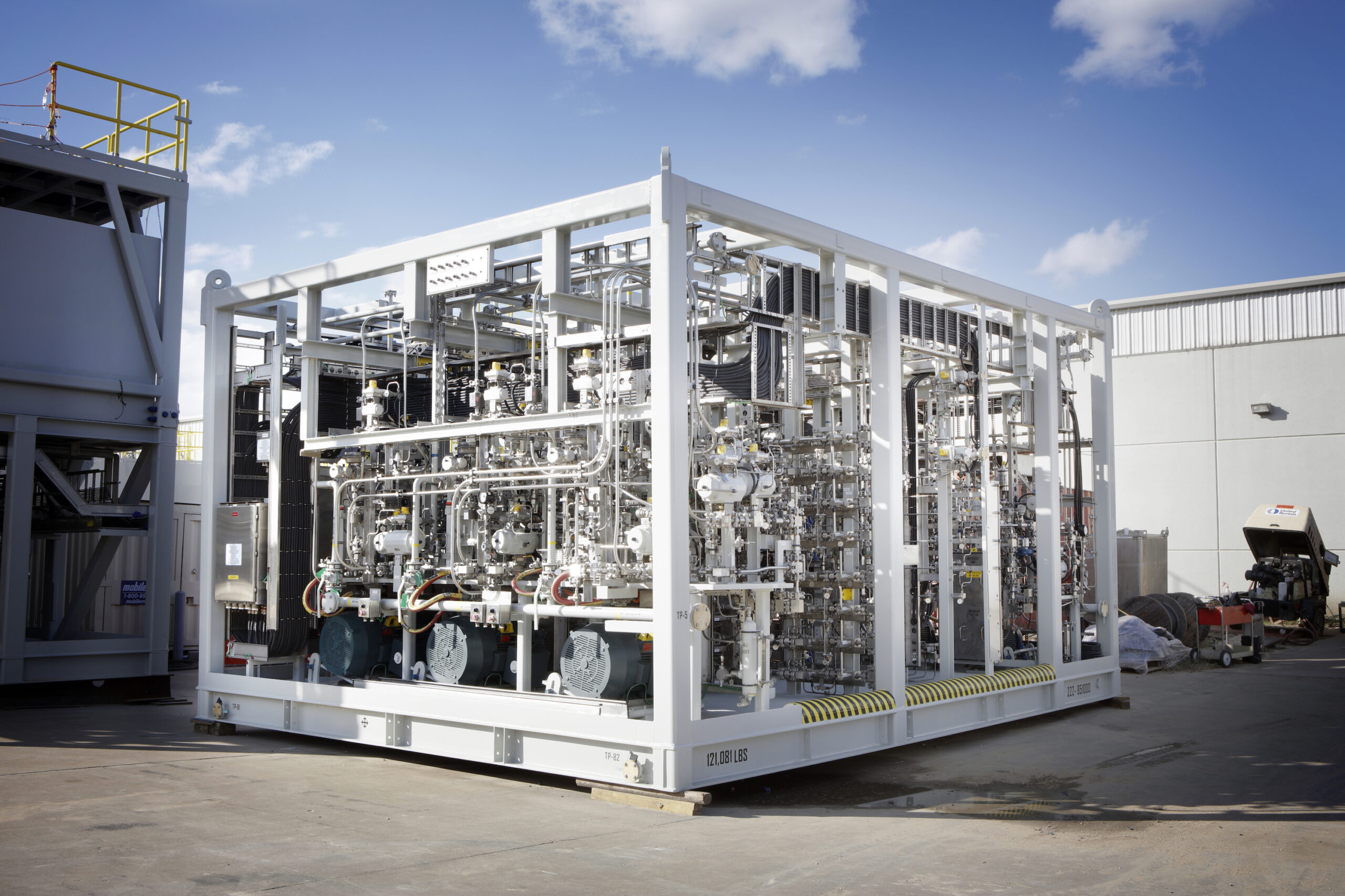 W-Industries methanol injection system